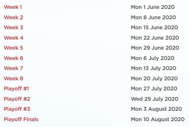 schedule summer split Belgian League