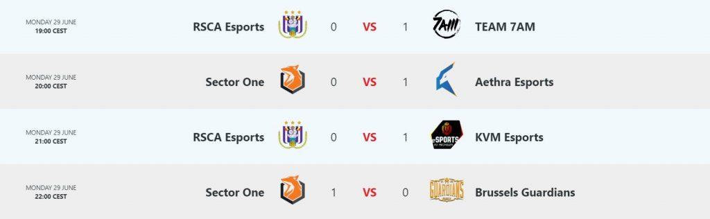 Result Day 5 Belgian League League of Legends